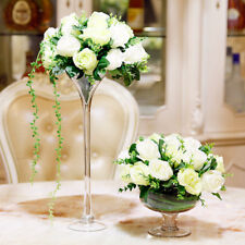 6x 60cm Tall Martini Glass Vase Table Centrepiece Wedding Event Table Decoration
