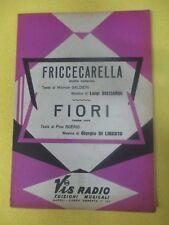 RARO SPARTITO SINGOLO FRICCECARELLA Ricciardi FIORI Di Liberto no mc cd (SP5)