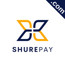 SHUREPAY.com 8 Letter Short .com Catchy Brandable Premium Domain Name for Sale
