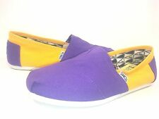 TOMS MEN'S CAMPUS CLASSICS CANVAS SHOES,UNIVERSITY OF EAST CAROLINA,US SIZE 12