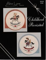 Childhood Revisited Cross Stitch | Alma Lynne ALX-22 Rocking Horse Boy Girl