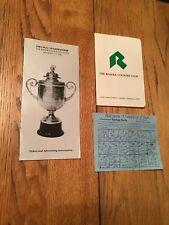 1983 PGA Championship Brochure Riviera CC & Riviera Scorecard & Yardage Guide