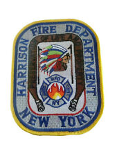 Harrison New York Fire Department Patch NY Fire Dept.