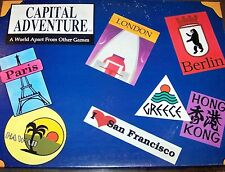 MATTEL' CAPITAL ADVENTURE' THE GAME OF INTERNATIONAL TRAVEL . GAME IS COMPLETE