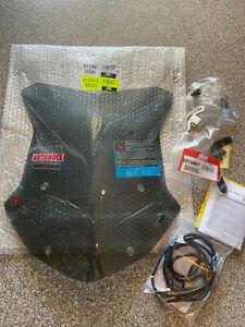 Givi 5124DG Windschild getönt 435mmx433mm  BMW R1200GS LC + Montagekit 5108KIT