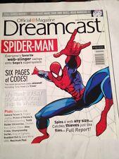 Dreamcast Magazine #12 , 2001 Spiderman Cover