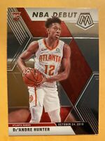 2019-20 Panini Mosaic De'Andre Hunter NBA Debut Rookie Card #266 - MINT! WOW!!