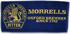 MORRELLS BREWERY BITTER (Blue) Pub Beer BAR TOWEL