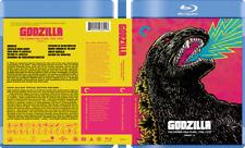 Godzilla Showa-Era Collection Custom Blu-ray Covers W/ EMPTY Cases (No Discs)