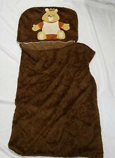 Vintage 1985 Teddy Ruxpin Bear Napper Sack Sleeping Slumber Bag Pillow Blanket