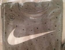 Nike Dri-Fit Athletic T-Shirt Polka-Dot Basketballs Gray 742671 NWT RARE Size L