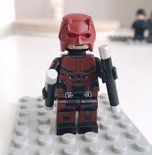 UG Brand Custom DAREDEVIL Lego Minifigure limited edition.