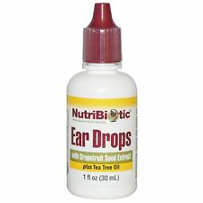 NutriBiotic, Ear Drops with Grapefruit Seed Extract, 1 fl oz (30 ml)