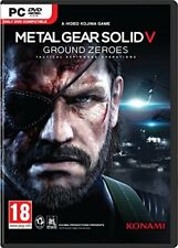 Metal Gear Solid V Ground Zeroes - PC DVD - New & Sealed