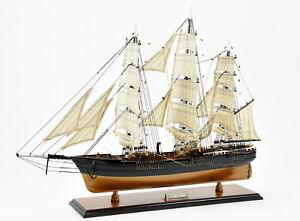 "Flying Cloud Clipper Tall Ship 27"" Handmade Fully Assembled Wooden Ship Model"