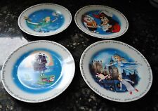 NEW PAUL CARDEW  PETER PAN SET/4 SALAD/DESSERT PLATE Designed ENGLAND 7.5""