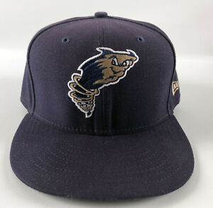 Tri-City Dust Devils New Era 59Fifty Baseball Hat Blue Size 7 3/8 - #34