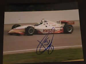 KENNY BRACK SIGNED/AUTOGRAPHED Bx10 PHOTO 1999 INDY 500 WINNER {AJ FOYT RACING}