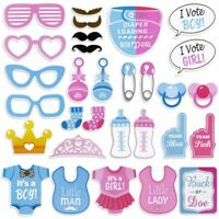 [LARGE SIZE] Baby Gender Reveal Party photo booth props /baby shower Favors/