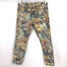 Current/Elliott: The Stiletto In Tropical Safari Size 30