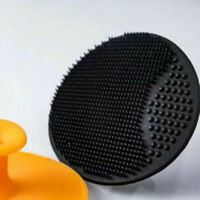1X Black Silicone Facial Cleansing Brush Skin Blackhead Pore Cleaner Face Tool