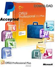 Microsoft Office 2010 ProPlus 32-64 bits Para 1PC en Español