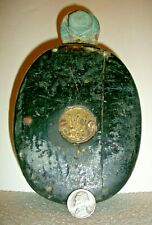 REAL NICE LOOKING, EARLY BRONZE & WOOD BOAT-BARN PULLEY, MERRIMAN BROTHER, #1