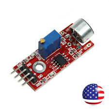 Microphone Sensor Module High Sensitivity Sound Detection For Arduino AVR PIC