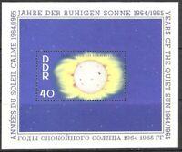 DDR #MiBl21 MNH S/S CV€3.20 1964 Calm Sun [746]