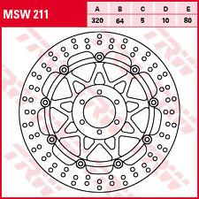 disque frein flottant avant  TRW LUCAS MSW 211  DUCATI  MONSTER  748 916 996 ...