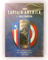 CAPTAIN AMERICA: 3-MOVIE COLLECTION TRILOGY 1 2 3 DVD BOX SET