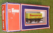 LIMA TRAINS RAILWAY OO GAUGE WAGON 5614 THE OXFORD DISTRICT GAS Co 7-PLANK