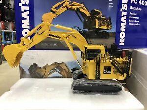 Komatsu PC4000 Mining Excavator With Backhoe 1:50 Scale Metal Model By NZG