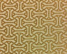 "Ballard Designs Garson Dijon Yellow Cream Furniture Chenille Fabric By Yard 54""W"