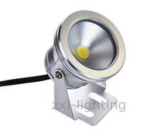 4er 10W LED Unterwasserstrahler Scheinwerfer IP67 12V Warm Garten-Teich-Licht
