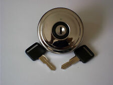 AUSTIN FX4 TAXI STAINLESS LOCKING FUEL CAP WITH KEYS