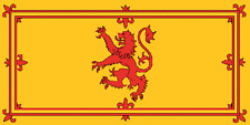 Giant Scotland Lion Rampant 8 x 5 feet (2.5m x 1.5m) free postage within UK