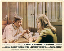 AMSTERDAM AFFAIR ORIGINAL LOBBY CARD CATHERINE SCHELL VON WILLIAM MARLOWE