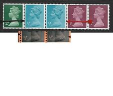 Machin 5p OCP/GA coil 1/2p's vty HORIZONTAL SCRATCHES ACROFF BOTH but not other!