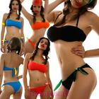 Bikini femme maillot de bain mer bande-écharpe goujons deux pièces neuf FRANCE-2