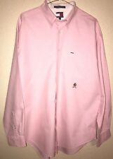 Vintage Men's Tommy Hilfiger Long Sleeve Button Down Casual Shirt!! Size Large!!