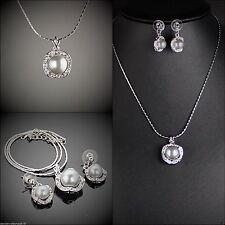 Swarovski Modeschmuck-Sets aus Perlen