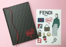 FENDI FF Logo Notebook Limited Edition / SPUR / Registered Air w/Tracking Number