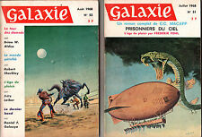 Lot de 152 N° de Galaxie (1969 - 1975)