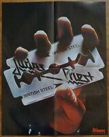 ⭐⭐⭐⭐ Behemot ⭐⭐⭐ Judas Priest ⭐⭐⭐ British Steel ⭐⭐⭐ 1 Poster 45 x 58 cm ⭐⭐⭐⭐