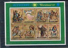 Aitutaki 1977 BF 16 Natale mnh