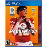 Madden NFL 20 - PlayStation 4 - EA Sports NFL 2020 SONY PS4