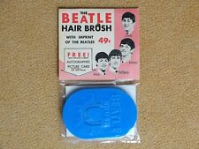 Beatles Memorabilia Original Hairbrush by Belliston Products, US 1964