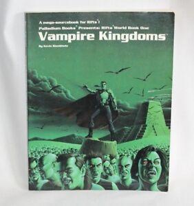 Palladium Books Rifts World Book One - Vampire Kingdoms - D20 Roleplaying