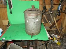 Antique Metal WATER COOLER DATED MARCH 9 1909